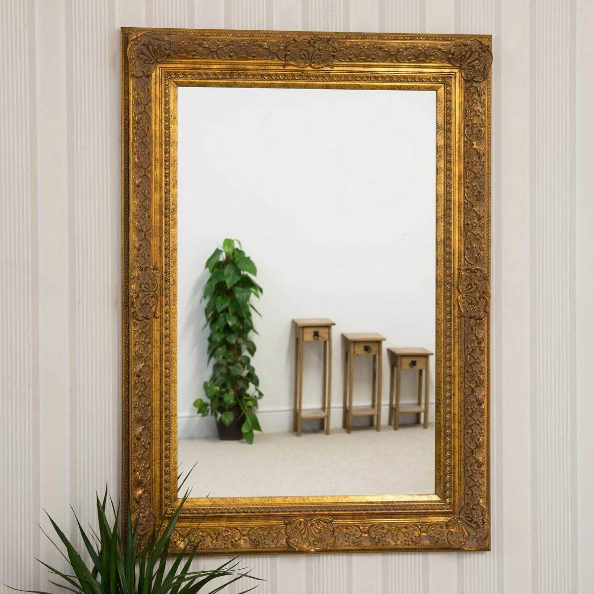 Frames by Post Kunstvolles Gold Spiegel antik Design Shabby chic ...