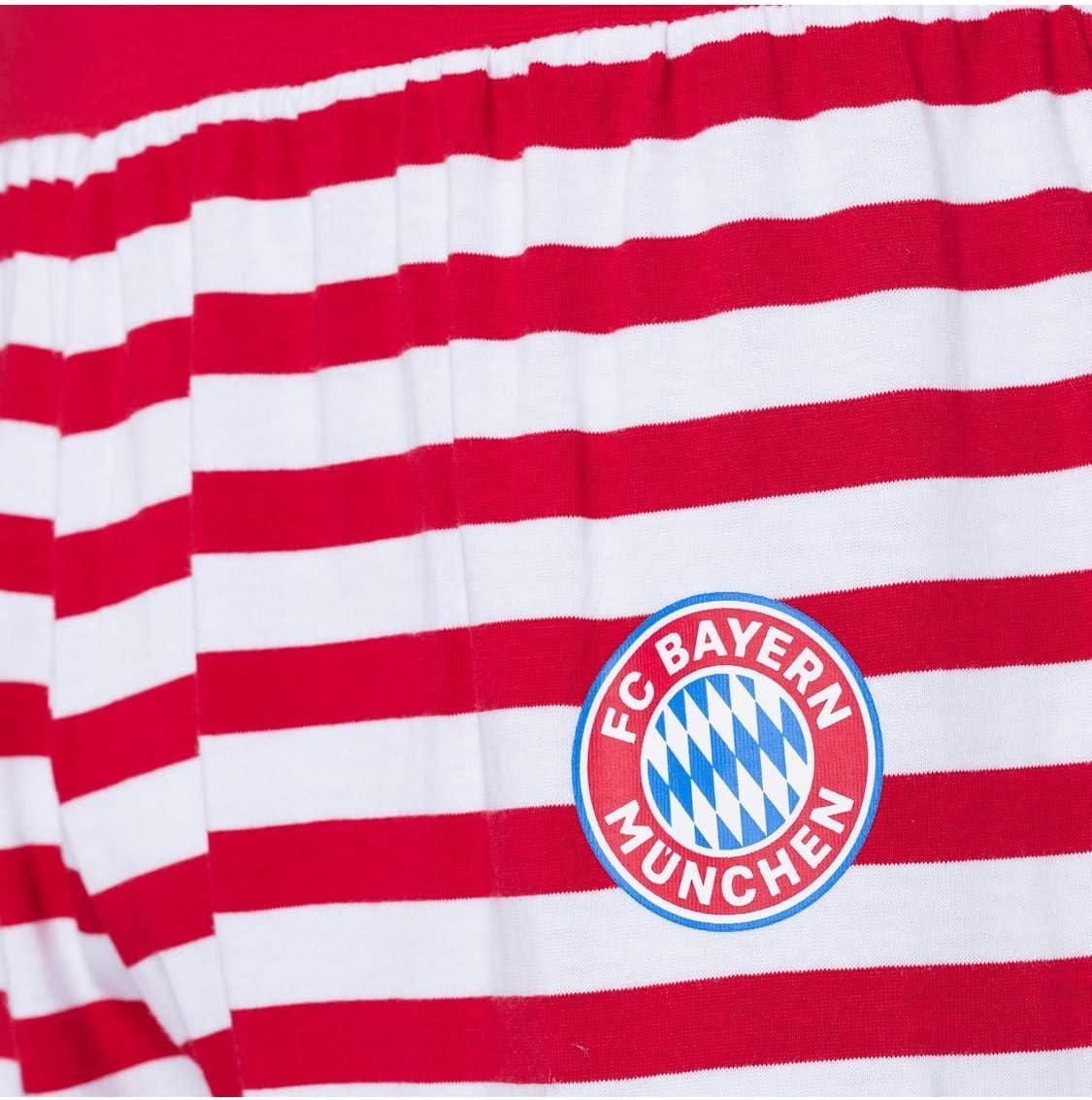 FC Bayern M/ünchen Schlafanzug Christmas rot