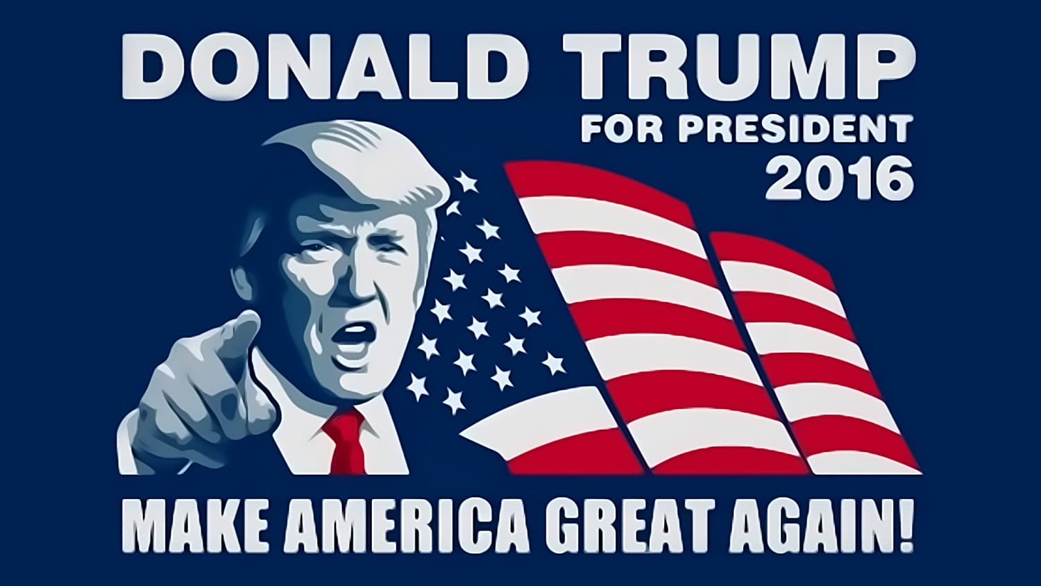 Amazon.com : Donald Trump For President Presidential Election Poster Photo  Limited Print Republican Sexy Celebrity Size 16x20 #1 : Everything Else