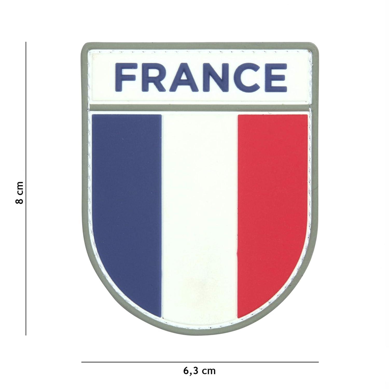 Tactical Attack Franz/ösische Armee #13075 Softair Sniper PVC Patch Logo Klett inkl gegenseite zum aufn/ähen Paintball Airsoft Abzeichen Fun Outdoor Freizeit