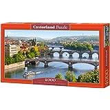 Castorland Vltava Bridges in Prague Jigsaw (4000-Piece)