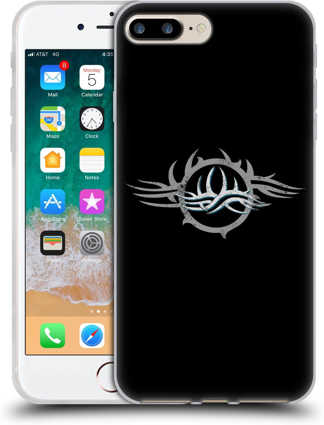 Head Case Designs Officially Licensed WWE Logo Goldberg Soft Gel Case Compatible with Apple iPhone 7 Plus/iPhone 8 Plus
