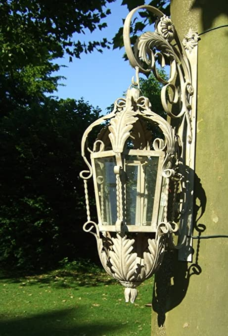 Antikas - lámpara Nostalgia 4kg - faroles Antiguos - lámpara Exterior - lámpara de Pared jardín Patio terraza: Amazon.es: Hogar