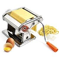 Machine à pâtes en acier inoxydable Pasta Maker Machine à pâtes; La Machine à pâtes pour pâtes fraiches