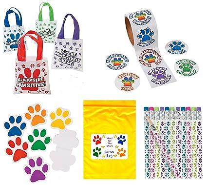 Amazon.com: Accesorios con diseño de huella de animal ...