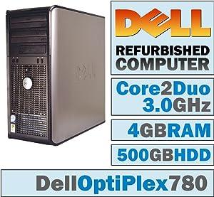 Dell OptiPlex 780 MT/Core 2 Duo E8400 @ 3.00 GHz/4GB DDR3/500GB HDD/DVD-RW/Windows 7 PRO 64 BIT