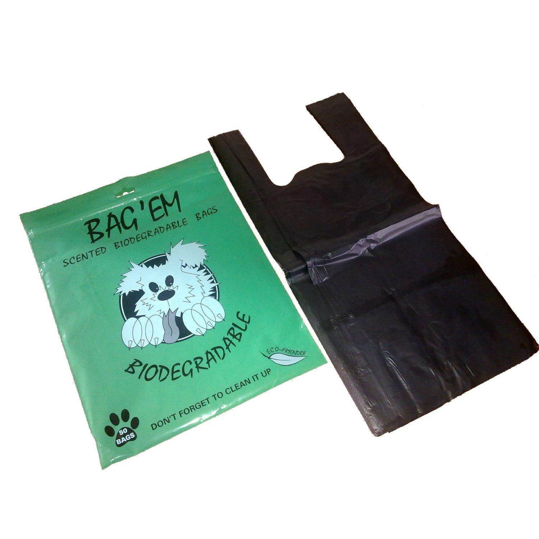 Purfect Pet Products Bag 'Em - Bolsas biológicas para caca (Pack de 50) JAKMA 02-3150