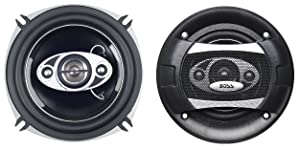 BOSS Audio P55.4C 300 Watt (Per Pair), 5.25 Inch, Full Range, 4 Way Car Speakers (Sold in Pairs)