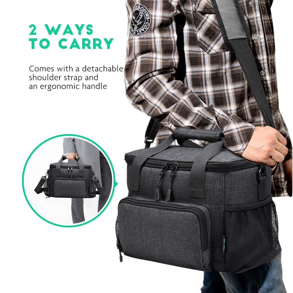 Amazon.com: F40C4TMP Bolsa de almuerzo grande, suave ...