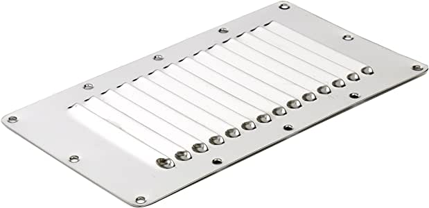 """Pair Marine Stainless Steel 4-1//2/"""" Louver Vent  Ventilation 3 Slots Polished"""