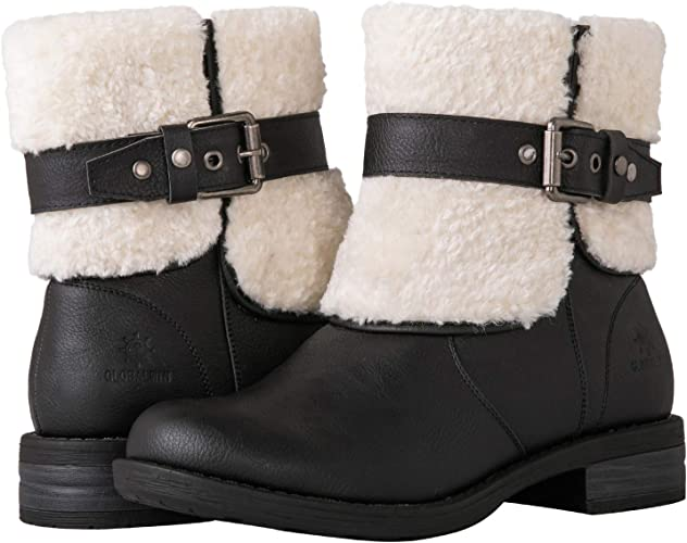 GLOBALWIN Women's 19YY02 Black Fashion Boots 7M