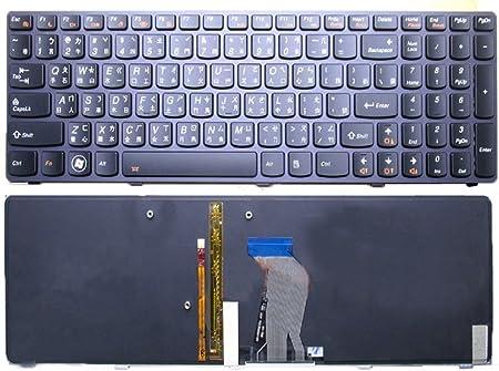 Portátil teclado para Lenovo Y580 N Y580 Y580 A tradicional ...