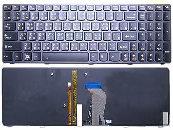 Portátil teclado para Lenovo Y580 N Y580 Y580 A tradicional chino TW con retroiluminación negro nuevo: Amazon.es: Informática
