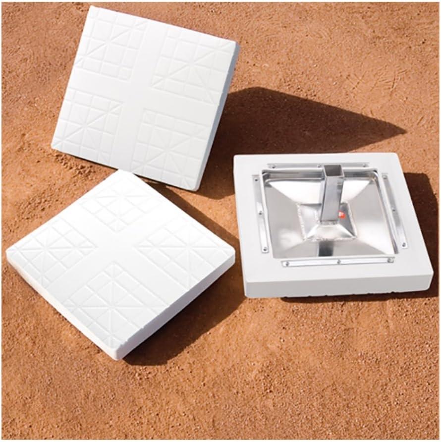 Major League Bases: Set of 3 w/o Ground Anchors
