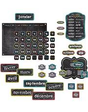 Creative Teaching Press French Calendar (Chalk) Bulletin Board Set (8457)