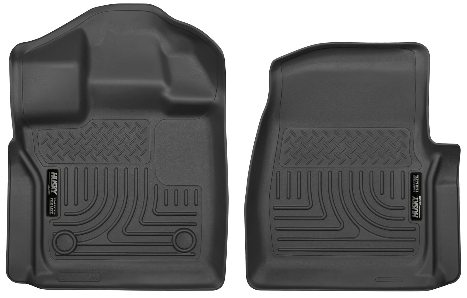 Husky Liners Front Floor Liners Fits 15-19 F150 Standard Cab Pickup