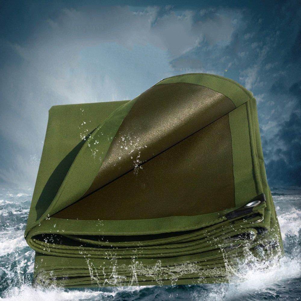 Plane YNN Heavy Duty, Hoher Dichte Dichte Dichte gesponnenes Polyäthylen und Doppeltes lamelliertes 100% Wasserdichtes und UV-geschütztes 0.7MM 650 g M² Wasserdichtes Tarp B07FNTDDGT Zeltplanen Ausgezeichnete Qualität e89ceb