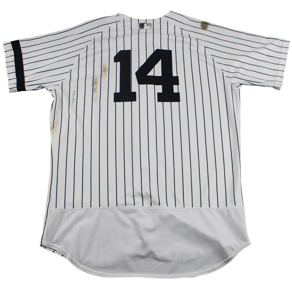 outlet store a2e20 02ef5 Starlin Castro New York Yankees Game Used #14 Pinstripe ...