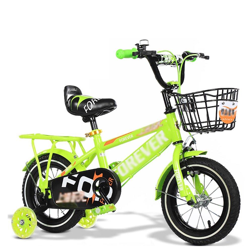 折りたたみキッズチャイルドバイク子供用自転車2歳から11歳12 14 16 18 20インチブルーレッドイエロー調節可能 B07DTWBD9K 16 inch|イエロー いえろ゜ イエロー いえろ゜ 16 inch