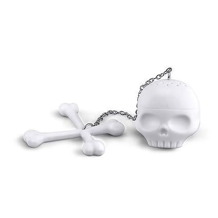 Amazon.com: Fred TEA BONES Skull Tea Infuser: Kitchen & Dining