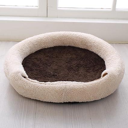 Aoligei Ropa Rosa Mascota Arena Caseta Gato Nest, 45 * 20 cm Perfecto para Sunbathing