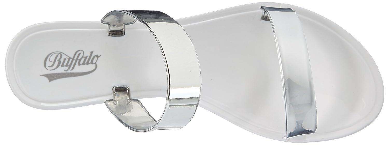 Buffalo XJ-05 PU, Damen Sandalen, Weiß (WHITE 17), 39 EU: Amazon.de: Schuhe  & Handtaschen