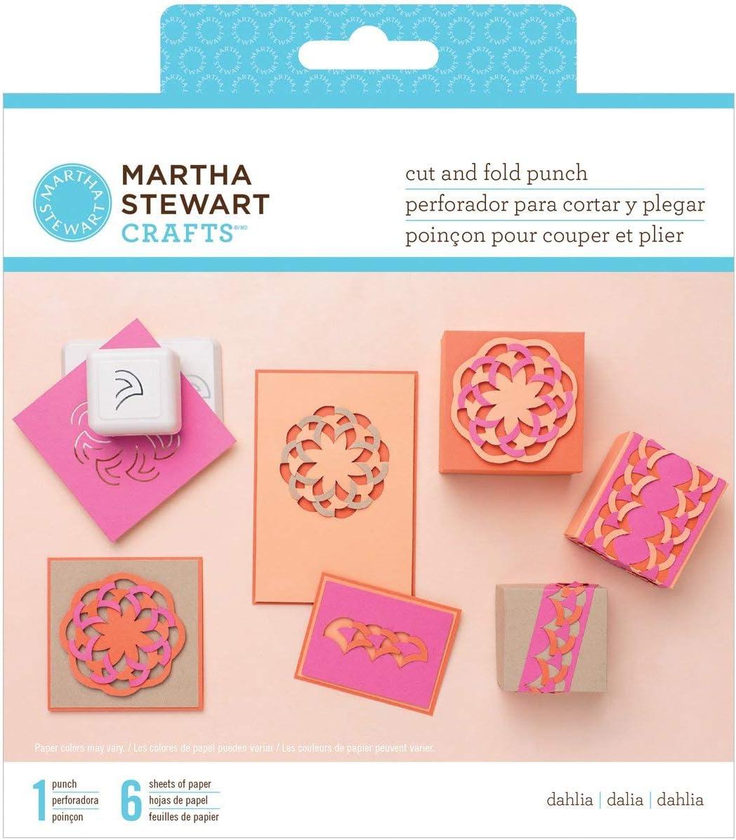 Amazon Com Martha Stewart Crafts Cut And Fold Dahlia