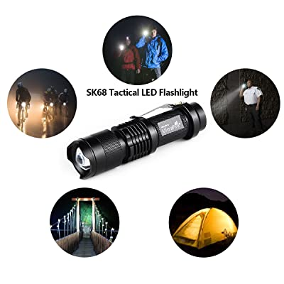 UltraFire Led Flashlight SK68 Review