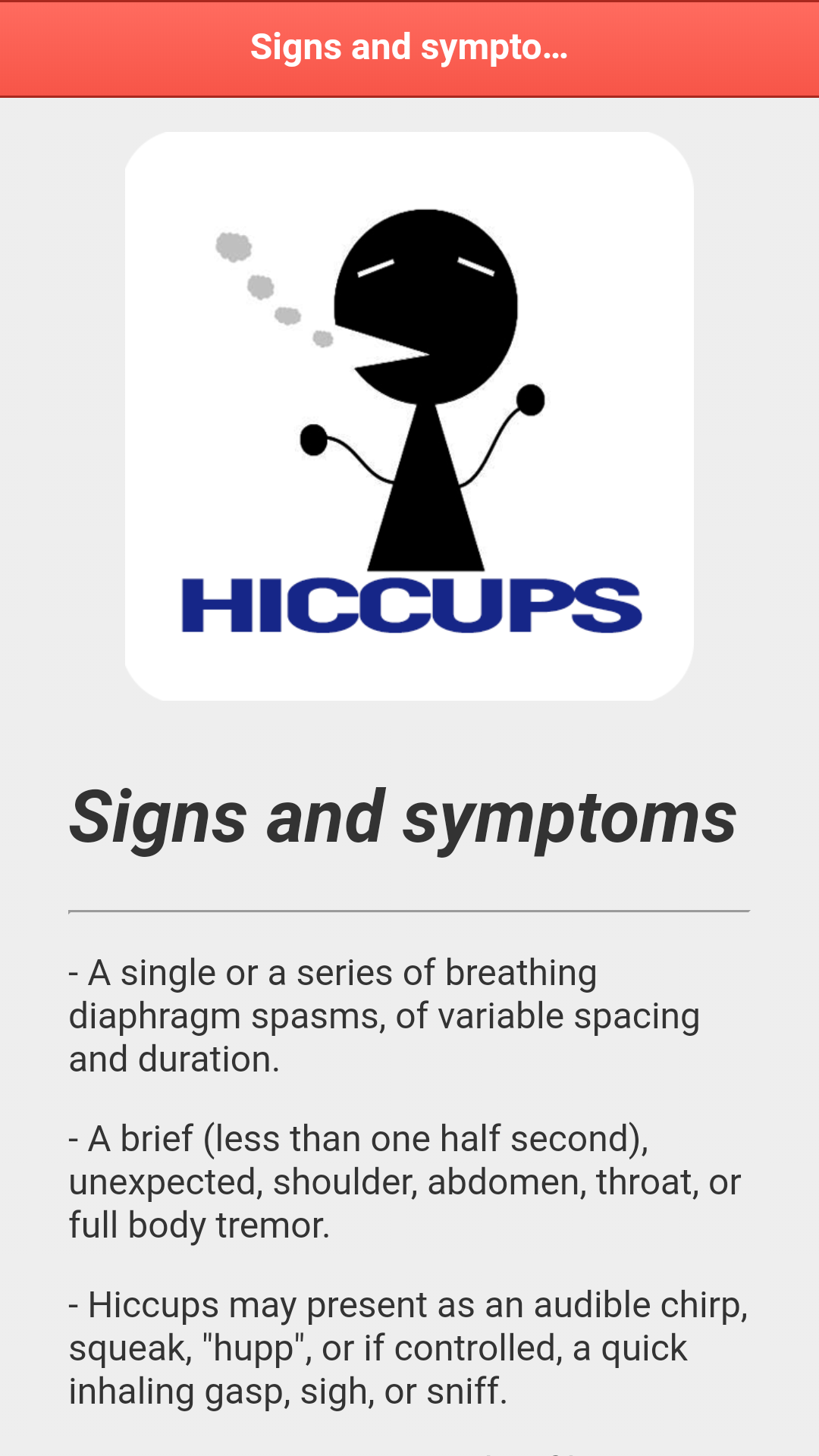 Amazon com: Hiccups: Appstore for Android