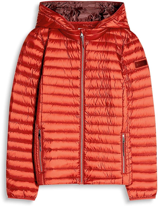 ESPRIT Women's Jacket Red (Terracotta 805)