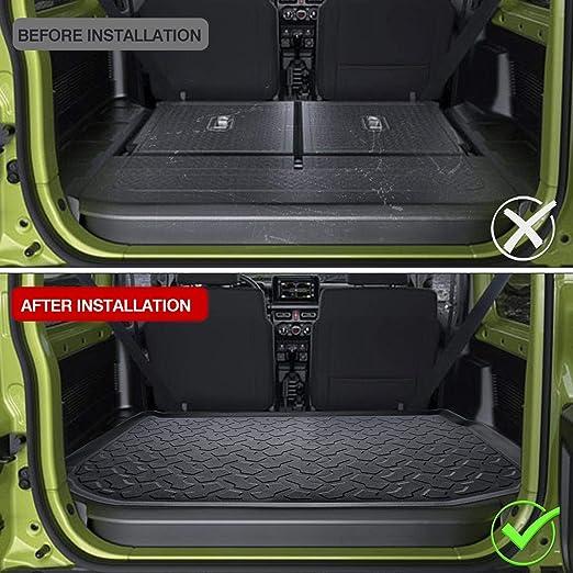 AMYD Accessori Interni del Vassoio dellorganizzatore della Scatola del Cambio dellauto in ABS per Suzuki Jimny 2019 2020