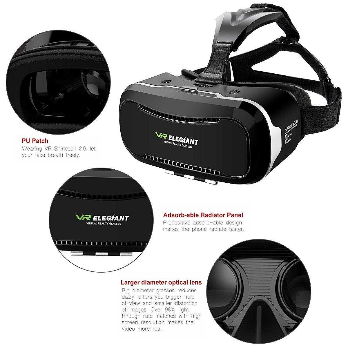 Virtual 3D Brille für Games und 3D Filme