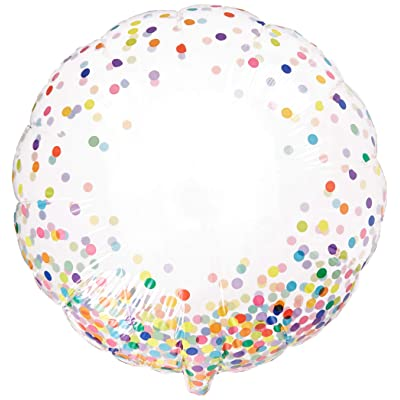 "PIONEER BALLOON COMPANY 57791 Bubble Balloon, 24"", Multi: Kitchen & Dining"