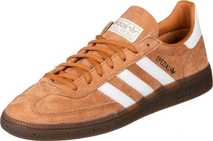 adidas Spezial Sneakers Herren Schwarz mit Hellbraun mit weißen Streifen