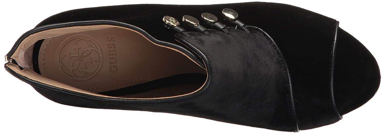 GUESS Women's Aby Sneaker B01MZGFOM5 6.5 B(M) US|Black