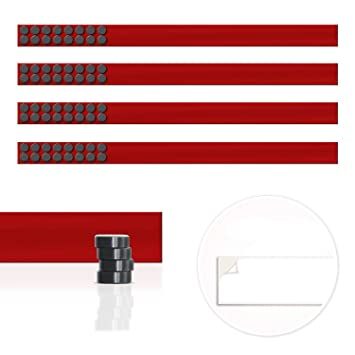 Master Of Boards Magnet Strip | Magnetic Display Rail With Adhesive Backing  | Memo Board For