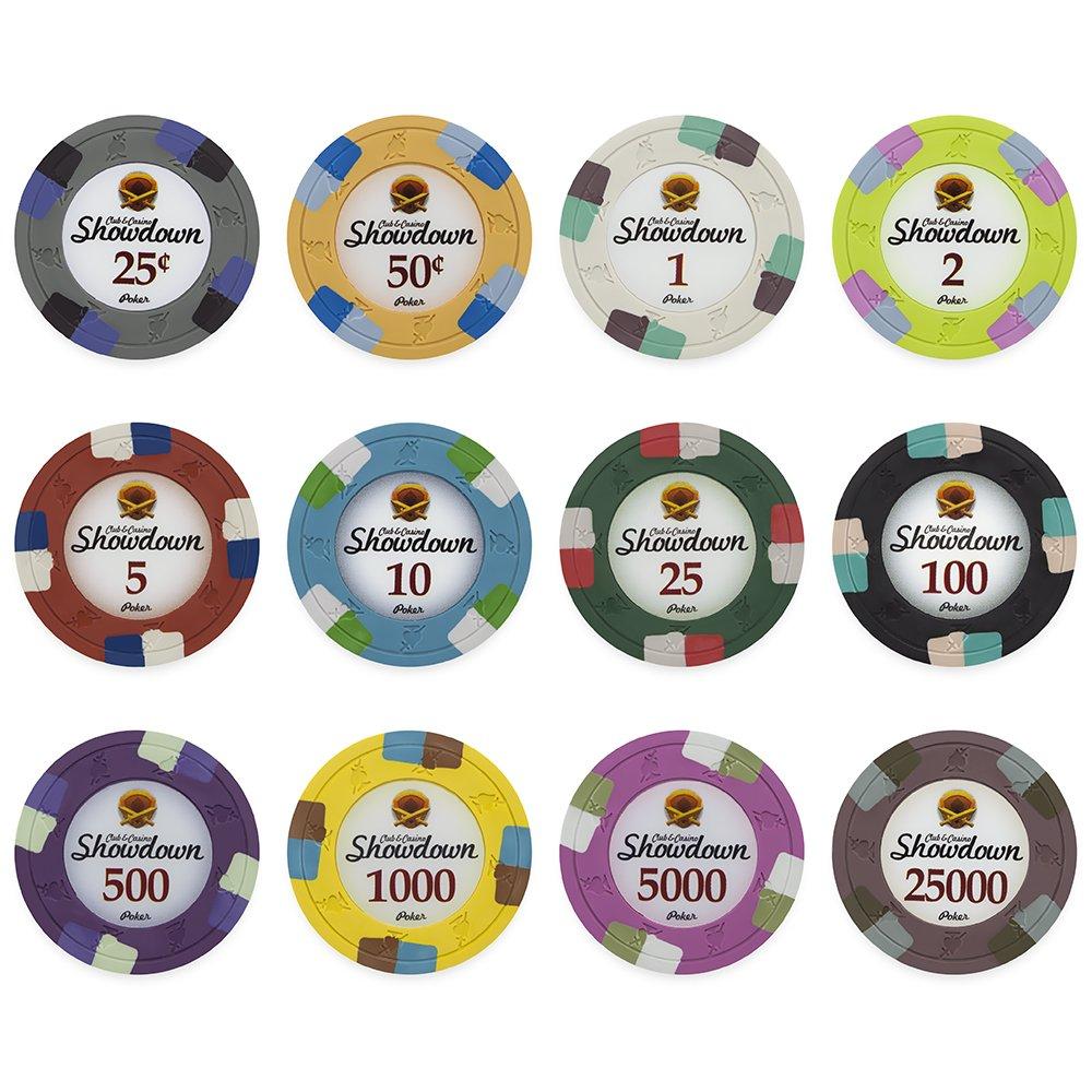1000 Showdown Club &コンポジットカジノ13.5 Showdown GM BulkクレイPoker Chips 1000 Chips – Choose Chips。 B01IUBW4RC, フナバシシ:ec71469b --- itxassou.fr