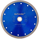 "GoYonder 7 Inch Super Thin Diamond Saw Blade for Cutting Porcelain,Tiles,Granite, Marble,Ceramics (7""-Blue)"