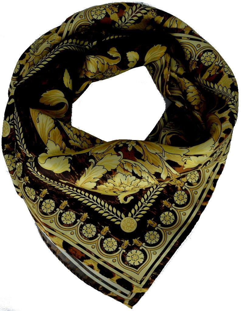 Versace Women Silk Scarf Shawl Made Italy é charpe femme foulard f041twa8669 0055