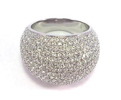 34a673d7c Swarovski Stone Ring size 58 1156315: Amazon.co.uk: Jewellery