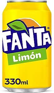 Fanta Limón Lata - 330 ml