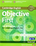 Objective First for Spanish Speakers Student's Book with Answers with CD-ROM with 100 Writing Tips 4th Edition
