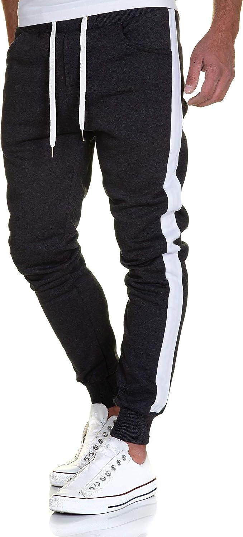 Herren Skinny Jogginghose Enganliegende Hose Trainingsanzug Neu