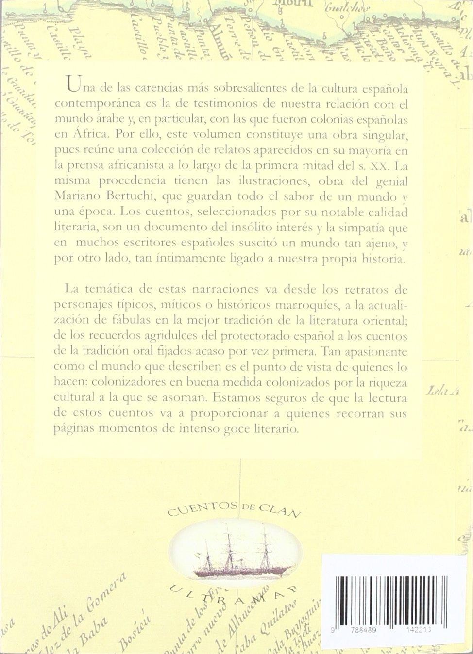 Cuentos del Marruecos español (Cuentos de Ultramar): Amazon.es: Mariano Bertucci: Libros