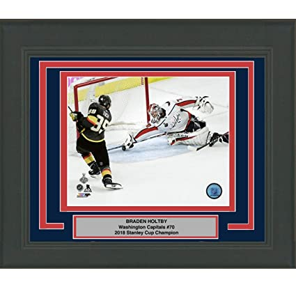 22d0bf0fb Image Unavailable. Image not available for. Color  Framed Braden Holtby  Save Game 4 Washington Capitals 2018 Stanley Cup Champions ...