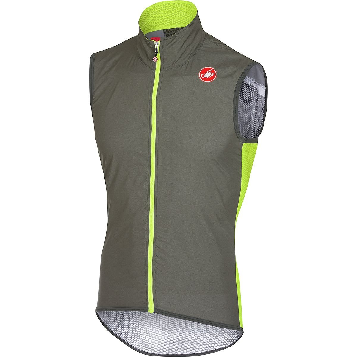 Castelli Proライト風ベスト B078Y7164R  Forest Gray X-Large