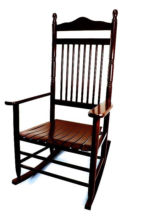 Amazon.com: Calabash - Silla de mecedora de madera 467SRTA ...