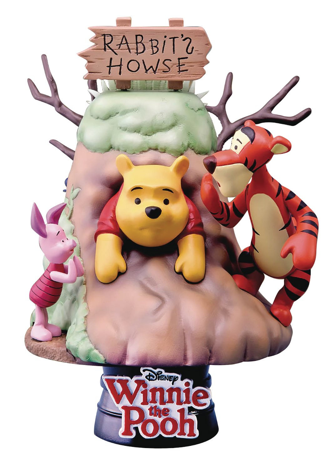 Beast Kingdom Winnie The Pooh Ds-006 D-Select Series Statue