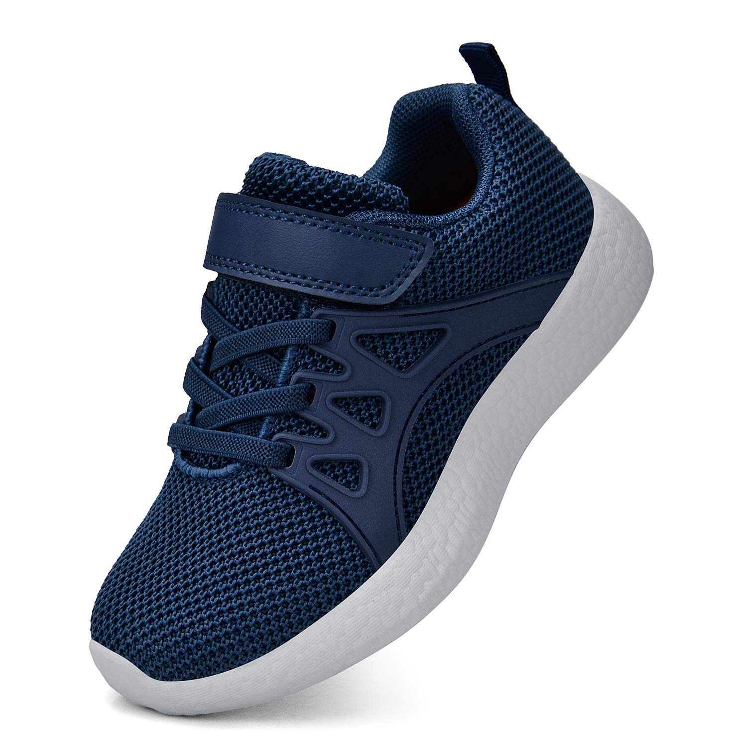 SouthBrothers Boys Shoes for Toddler Breathable Running Sneakers Blue Size 1.5 M US Little Kid