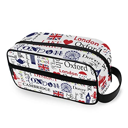 Union Jack London Big Ben - Neceser portátil para Mujer y ...